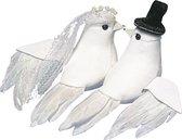 Duiven bruidspaar