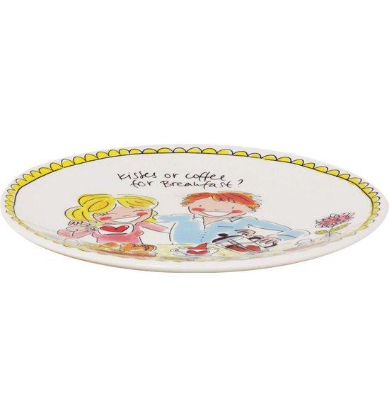 Blond Amsterdam bord 22 cm love - Even bijkletsen