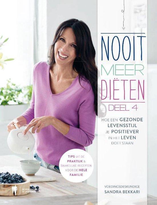 Boek cover Nooit meer diëten 4 van Sandra Bekkari (Hardcover)