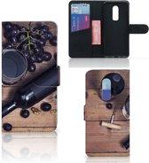 OnePlus 6 Book Cover Wijn