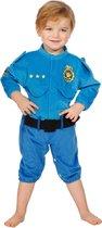 Politie & Detective Kostuum | Baby Politie Onesie Kind Kostuum | Maat 86 | Carnaval kostuum | Verkleedkleding