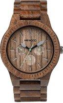 WeWOOD KAPPA Nut  - Horloge - Bruin - 41 mm
