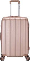 Decent Tranporto-One Medium Koffer - 66 cm - TSA slot - Salmon Pink