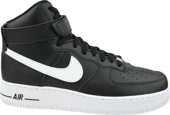 Nike Air Force 1 High '07 AN20 CK4369-001, Mannen, Zwart, Sneakers maat: 45.5 EU