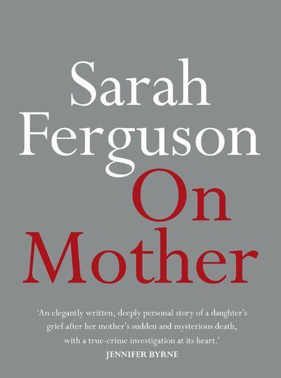 Omslag van On Mother