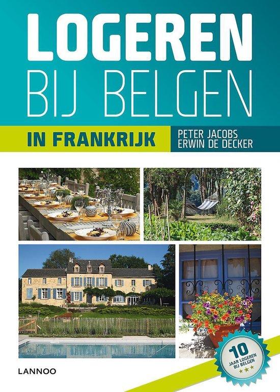 Cover van het boek 'Logeren bij Belgen in Frankrijk'