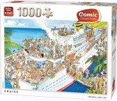 Comic Puzzel 1000 Stukjes CRUISE