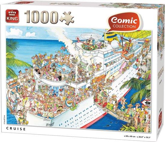 Afbeelding van Comic Puzzel 1000 Stukjes CRUISE