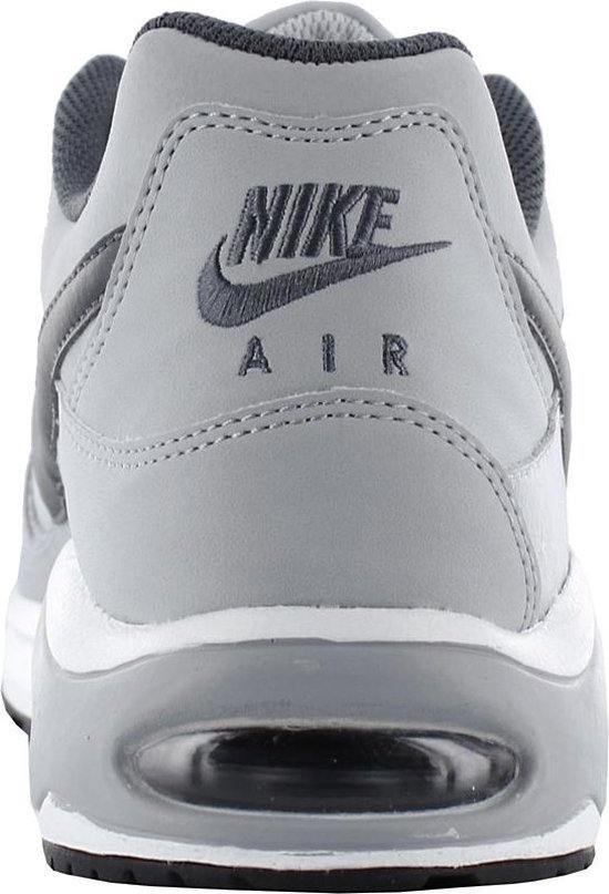 Nike Air Max Command Leather Heren Sneakers - Wolf Grey/Black - Maat 44