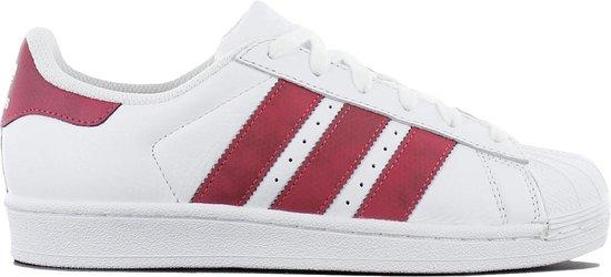 adidas Originals Superstar CQ2690 Dames Sneaker Sportschoenen Schoenen Wit  - Maat EU 36 2/3 UK 4