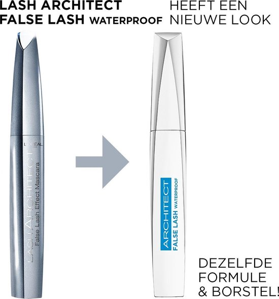 L'Oréal Paris False Lash Architect 4D Waterproof Mascara - Zwart
