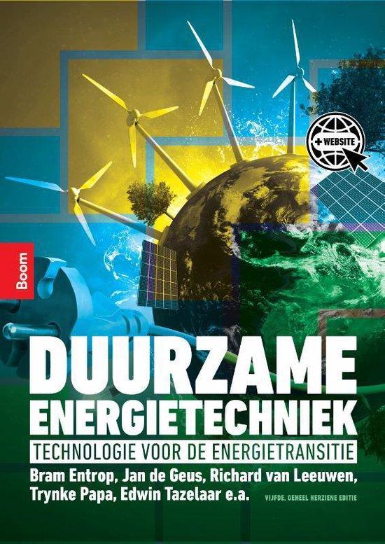 Boek cover Duurzame energietechniek van Trynke Papa (Paperback)