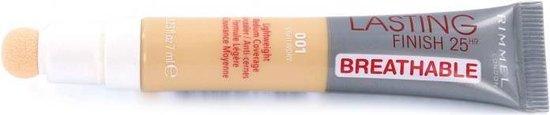 Rimmel Lasting Finish 25 HR Breathable Concealer – 001 Light Ivory
