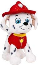Pluche Paw Patrol knuffel Marshall 19 cm - Cartoon knuffels - Speelgoed voor kinderen