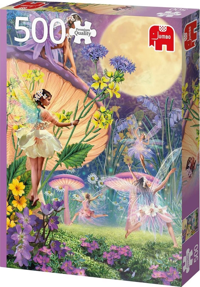 Jumbo Premium Collection Puzzel Fairy Dance in the Twilight - Legpuzzel - 500 stukjes