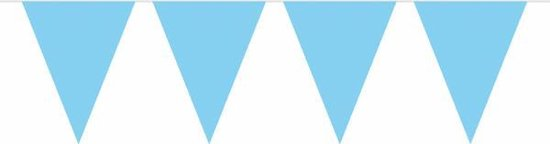 Haza Original Vlaggenlijn Lichtblauw 10 Meter
