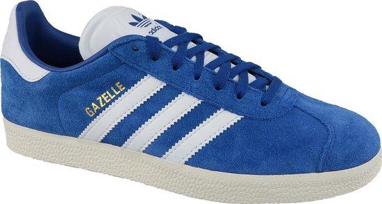 adidas Gazelle CQ2800, Mannen, Blauw, Sneakers maat: 38 2/3 EU