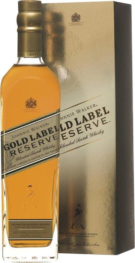 Johnnie Walker Gold Label Reserve Whisky - 1 x 70 cl