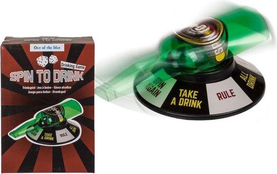 Afbeelding van het spel Spin To Drink - Drankspel - Flesje draaien - Spin The Bottle