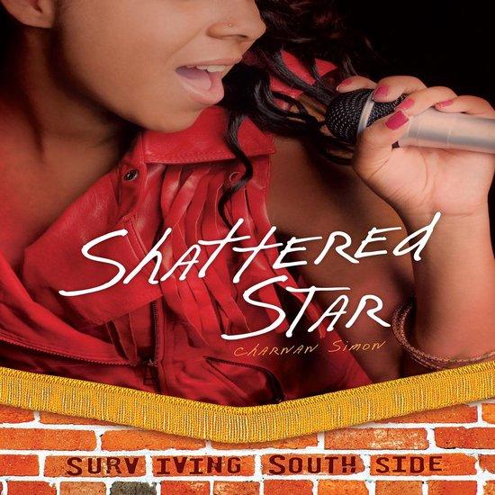 Boek cover Shattered Star van Charnan Simon (Onbekend)