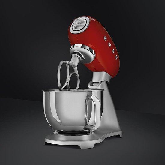 Smeg Keukenmachine SMF02RDEU, rood