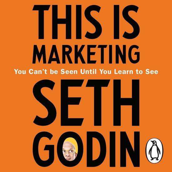 Boek cover This is Marketing van Seth Godin (Onbekend)