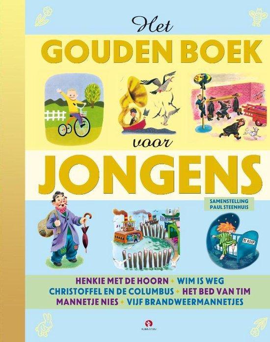 Boek cover Het gouden boek voor jongens van Margaret Wise Brown (Hardcover)