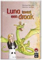 Hoera, ik kan lezen!  -   Luna tovert een draak