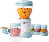 NutriBullet Baby Bullet - 18-delig - Blender - Mixer voor Babyvoeding - inclusief 6 handige bekers