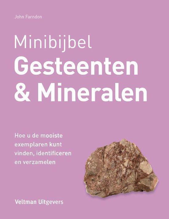 Boek cover Minibijbel  -   Gesteenten en mineralen van John Farndon (Hardcover)