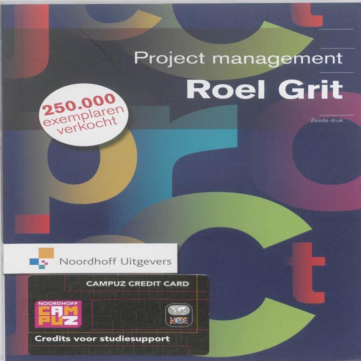 Projectmanagement - Roel Grit
