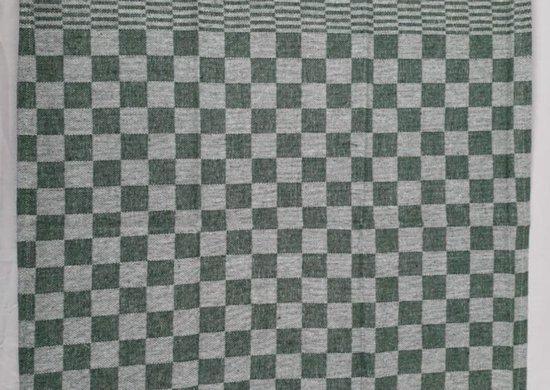 Theedoek - Groen - Klassieke ruitjes-design - Per 4 stuks - 100% katoen - 65x65 cm