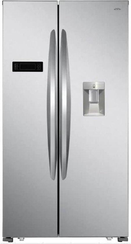 Koelkast: VALBERG By Electro Depot - SBS529WDFX742C - Amerikaanse koelkast - No Frost - 518L - Waterdispenser via reservoireservoir, van het merk VALBERG