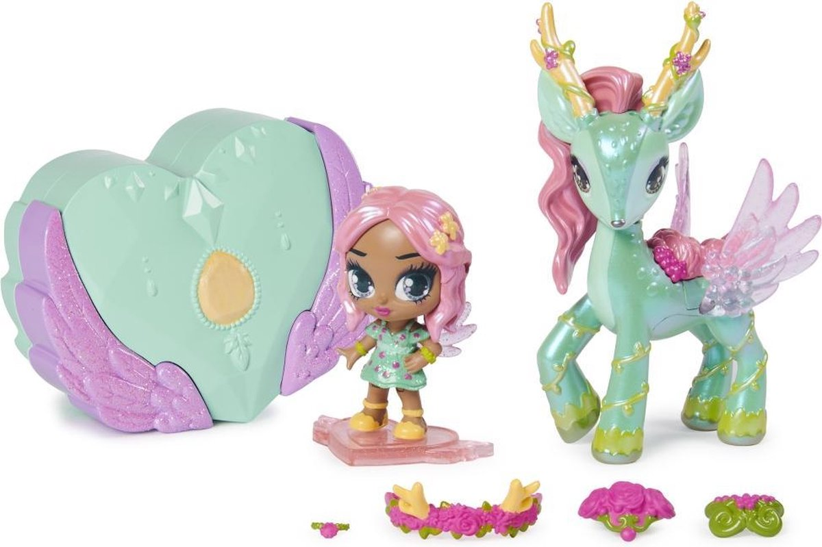 """""""""""HATCHIMALS PIXIES Ruiters - 6058551 - Magische doos met sprookjespoppen en fantastische dieren om te verzamelen - Mini-kinderuniversum"""""""""""