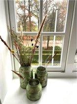 Decoratie Vaas Bloom - Sage - Set van 3 vazen