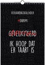 #DARUM! Verjaardagskalender - A4