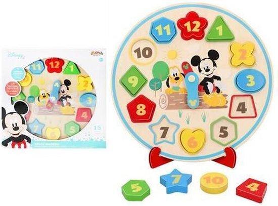 Horloge Kinderen Disney (30 cm)