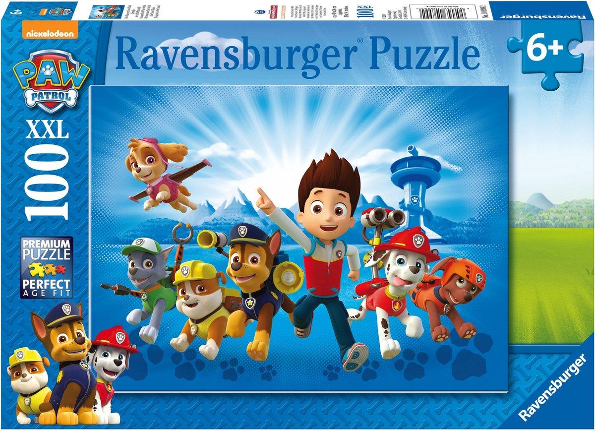 Ravensburger puzzel PAW Patrol: De Ploeg - Legpuzzel - 100XXL stukjes