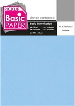 Basic Linnenkarton A4 Lichtblauw - 10 vel