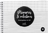 Zoedt invulboekje - herinneringen - dagboekje voor kids - memories and milestones - A5 formaat
