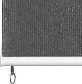 vidaXL Rolgordijn voor buiten 400x230 cm antraciet