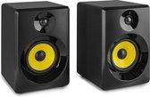 Studio monitor speakers - Vonyx SMN50B actieve studio monitor speakerset 140W - 5 inch - Zwart