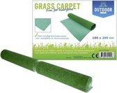 Outdoor Grastapijt met anti-slip drainage noppen -100x200 cm