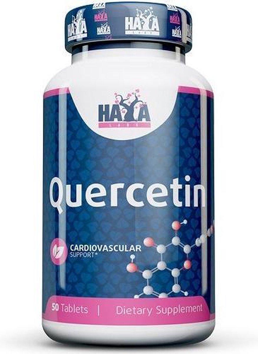 Haya Labs - Quercetin - 500mg - 50 Tabletten