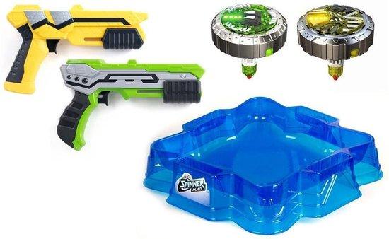 Afbeelding van het spel Silverlit Spinner MAD Deluxe Battle Pack