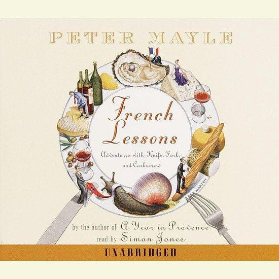 Boek cover French Lessons van Peter Mayle (Onbekend)