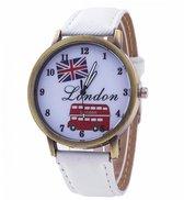 Hidzo Horloge London Ø 40 - Wit