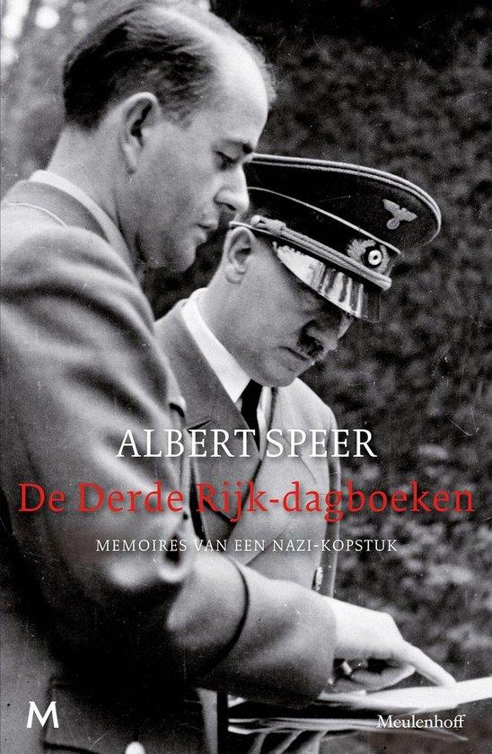 Boek cover De derde Rijk-dagboeken van Albert Speer (Onbekend)