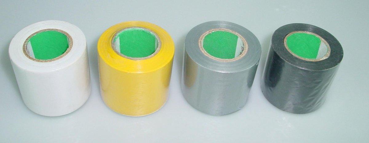 Sub rol isolatietape 0,15 mm x 50 mm x 10m, grijs