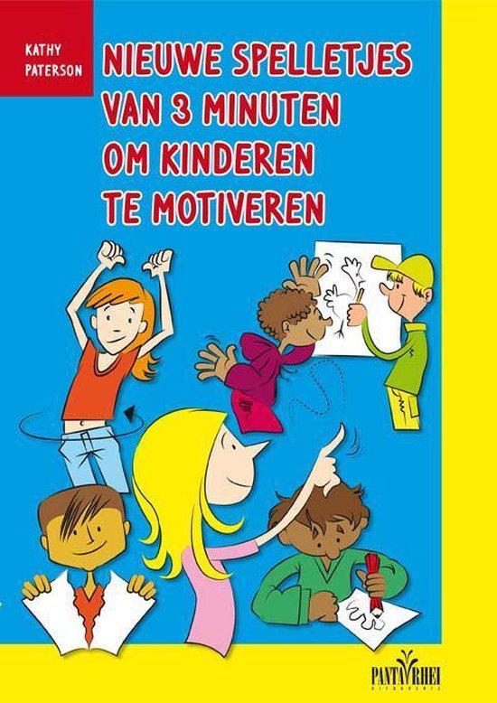 Boek cover Nieuwe spelletjes van 3 minuten om kinderen te motiveren van Kathy Paterson (Paperback)